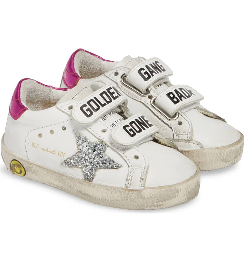Glitter Old School Sneaker GOLDEN GOOSE $250.00