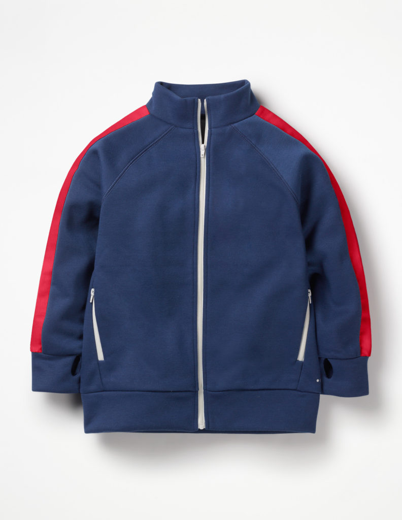 ACTIVE ZIP-UP TRACK TOP $52.00