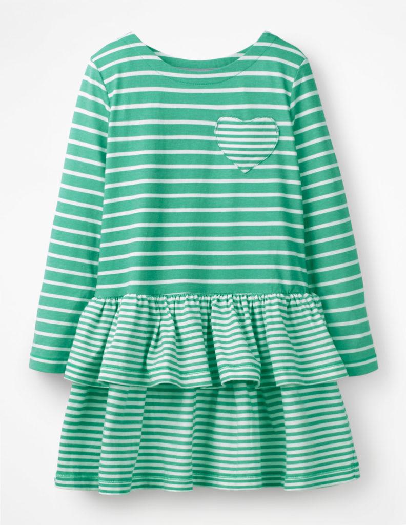 STRIPY JERSEY DRESS$38.00