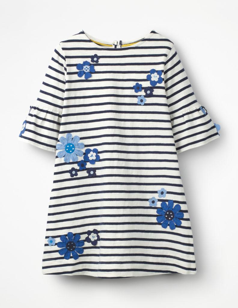FLUTE-SLEEVED DRESS $45.00