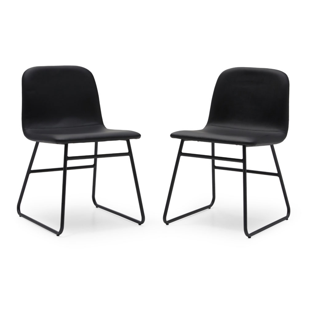 MoDRN Industrial Dax Dining Chair, Set of 2, Multiple Colors  $129.00