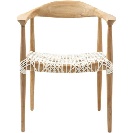 Safavieh Bandelier Arm Chair, Light Oak $218.39