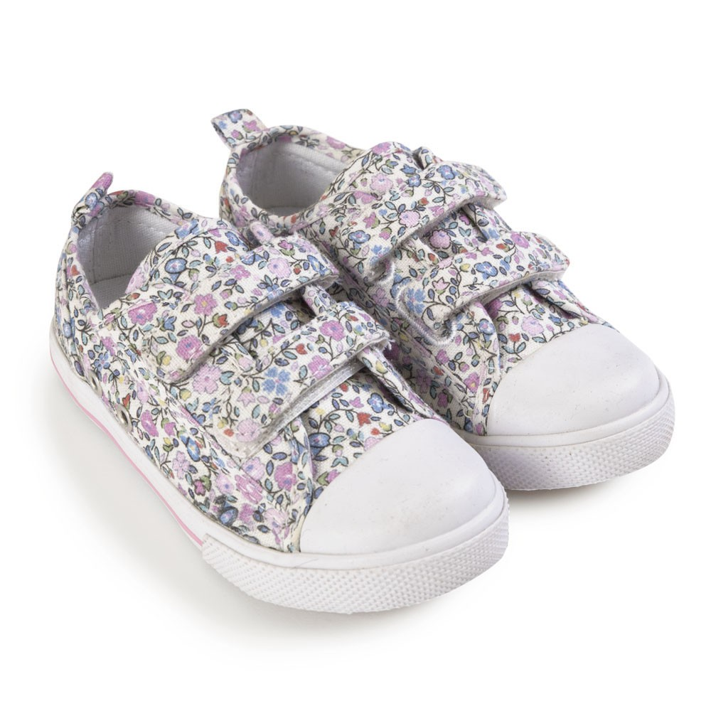 Girls' Canvas Sneakers $29.00