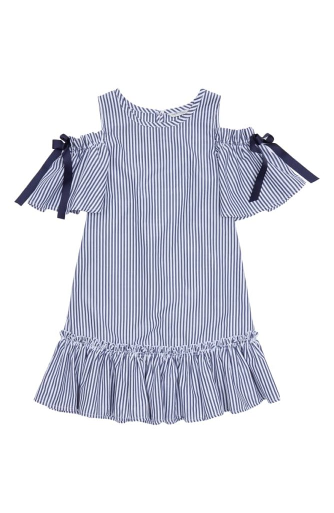 Habitual Kids Nancy Cold Shoulder Dress HABITUAL GIRL $44.00