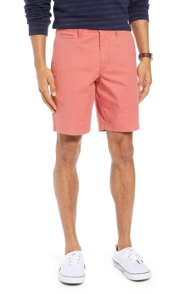 Ballard Slim Fit Stretch Chino 9-Inch Shorts $49.50