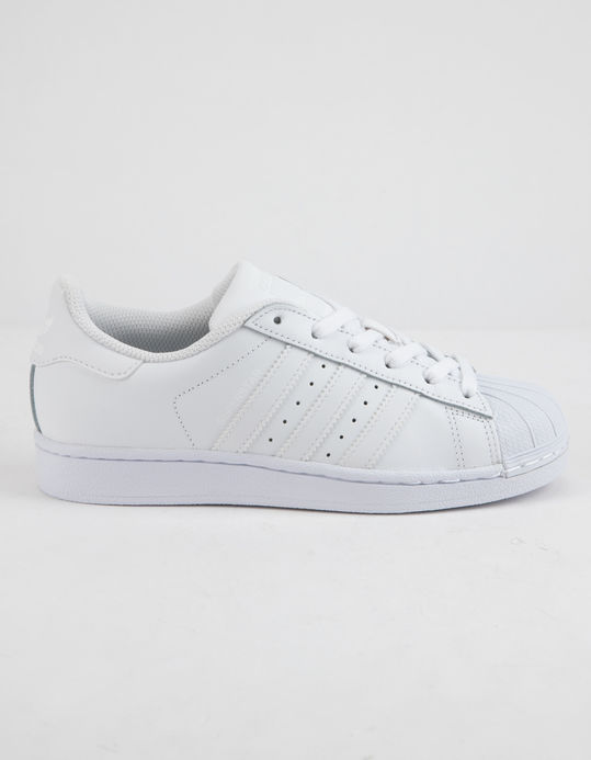 ADIDAS Superstar Foundation White Kids Shoes $69.99