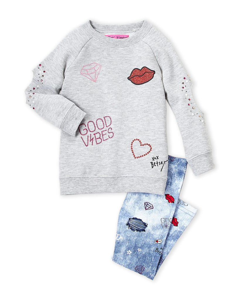 BETSEY JOHNSON (Toddler Girls) Two-Piece Set $16.99