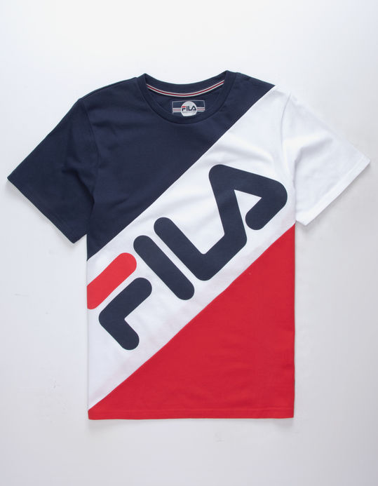 FILA Banner Striped Boys T-Shirt $19.95