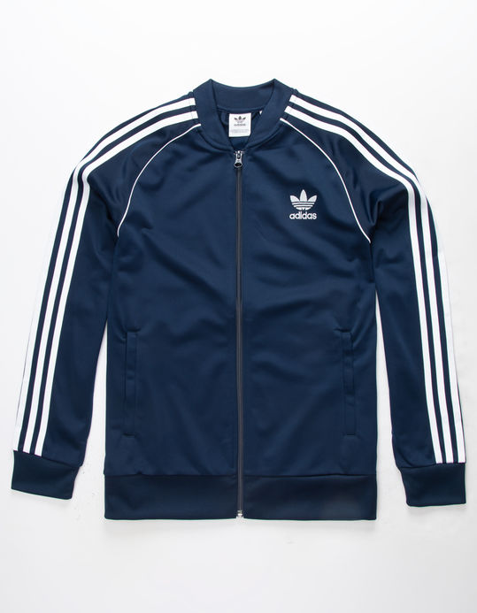 ADIDAS Superstar Navy Boys Track Jacket$27.99