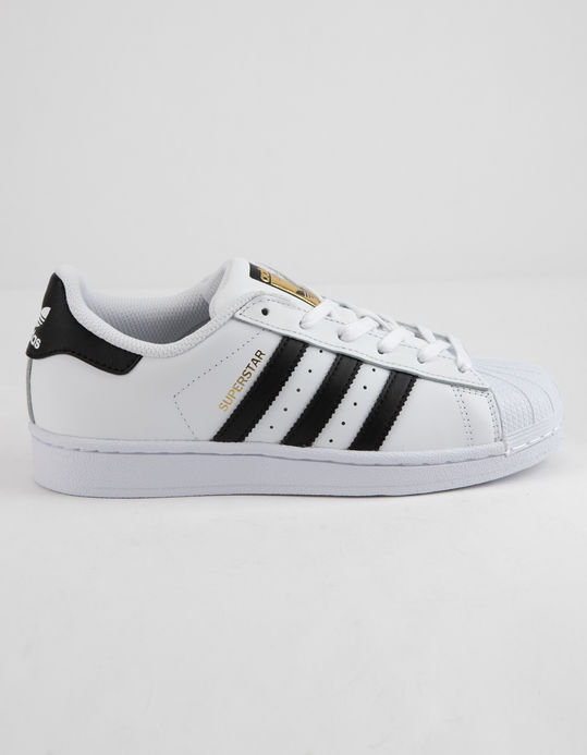 ADIDAS Superstar Foundation White & Black Kids Shoes $69.99
