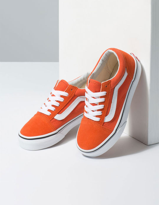 VANS Old Skool Koi & True White Kids Shoes$39.99