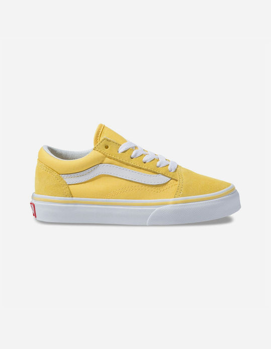 VANS Old Skool Aspen Gold & True White Kids Shoes $39.99