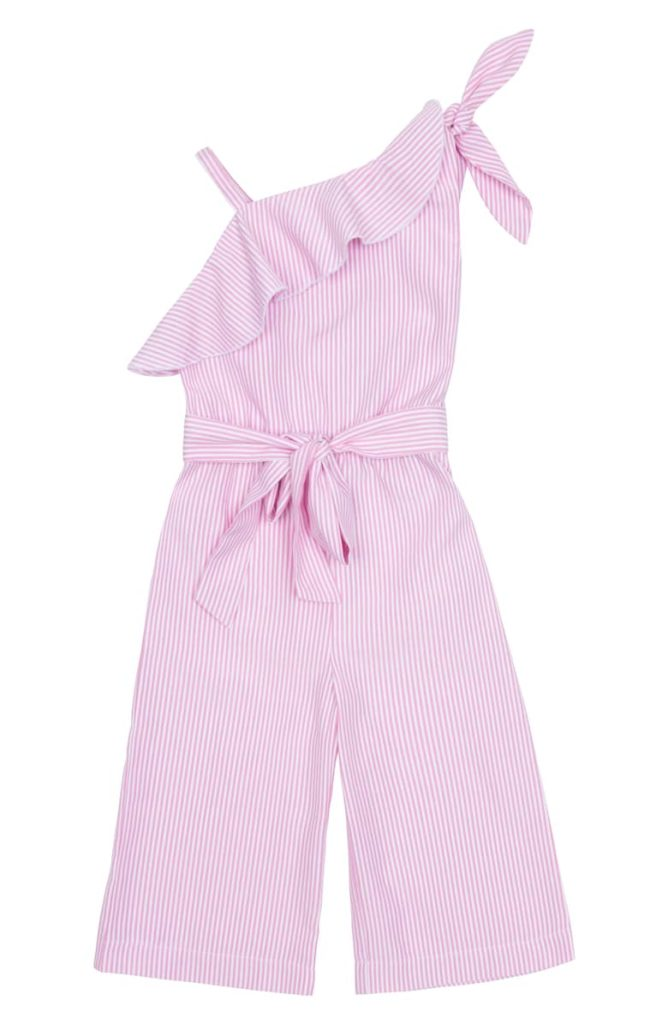 Thalia One-Shoulder Jumpsuit HABITUAL GIRL Toddler & Little Girl $52.00