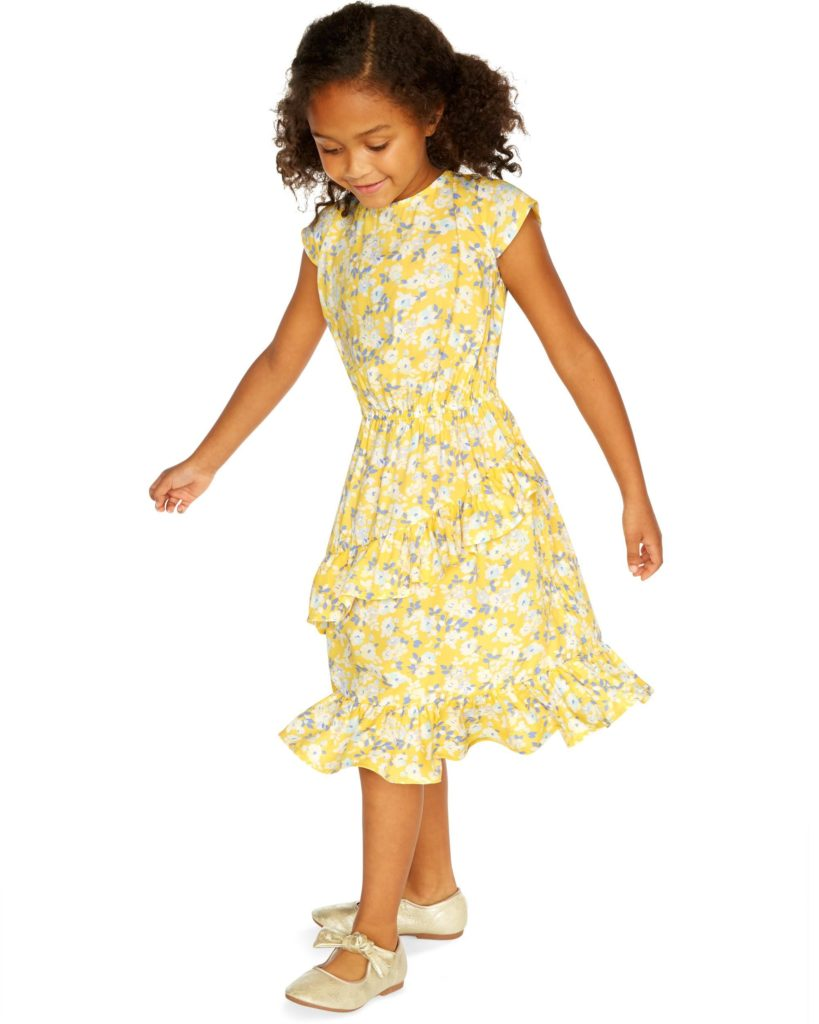 Ruffle Floral Dress $20.40