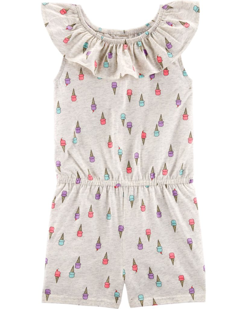 Ice Cream Romper $28.00