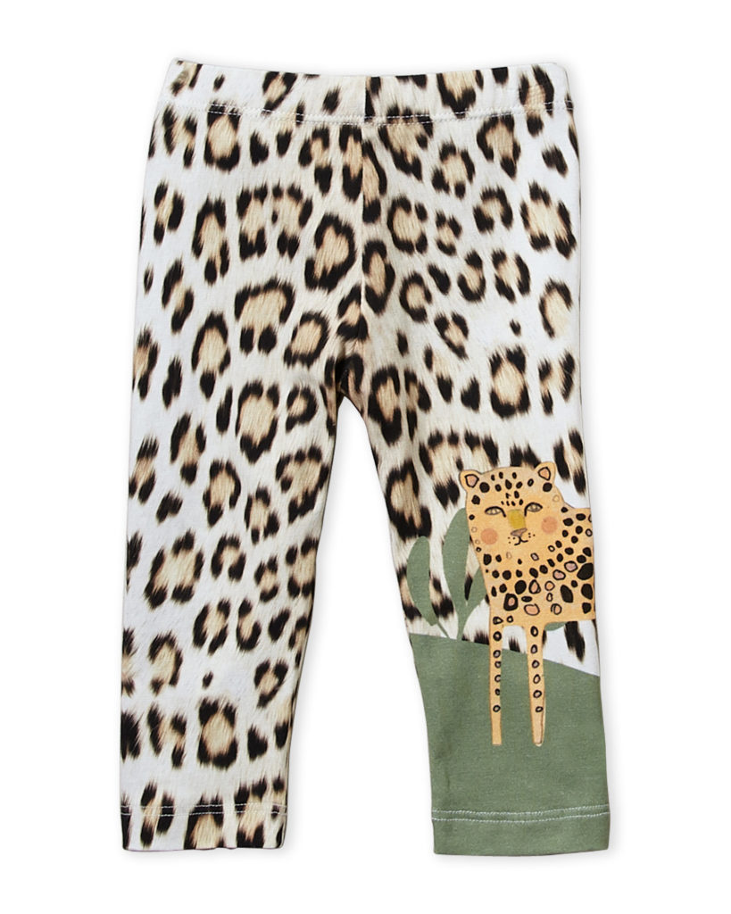 ROBERTO CAVALLI (Infant Girls) Leopard Leggings $24.99ROBERTO CAVALLI
