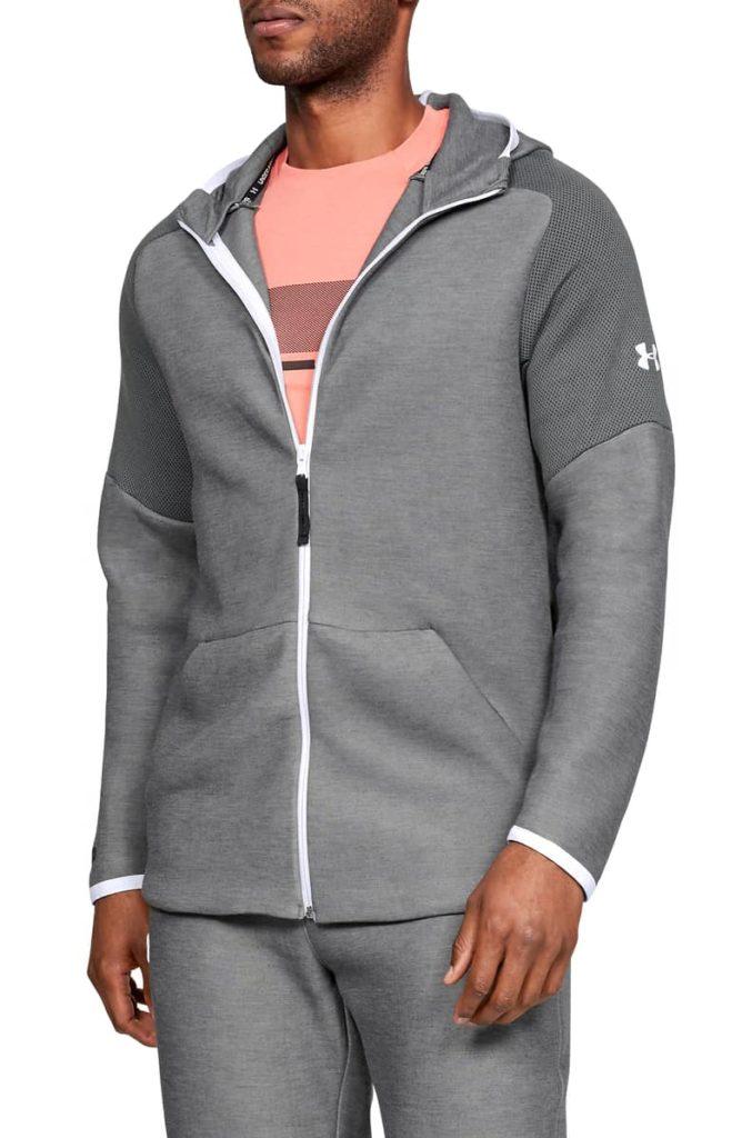 Unstoppable Move Light Full-Zip Hooded Sweatshirt $85.00