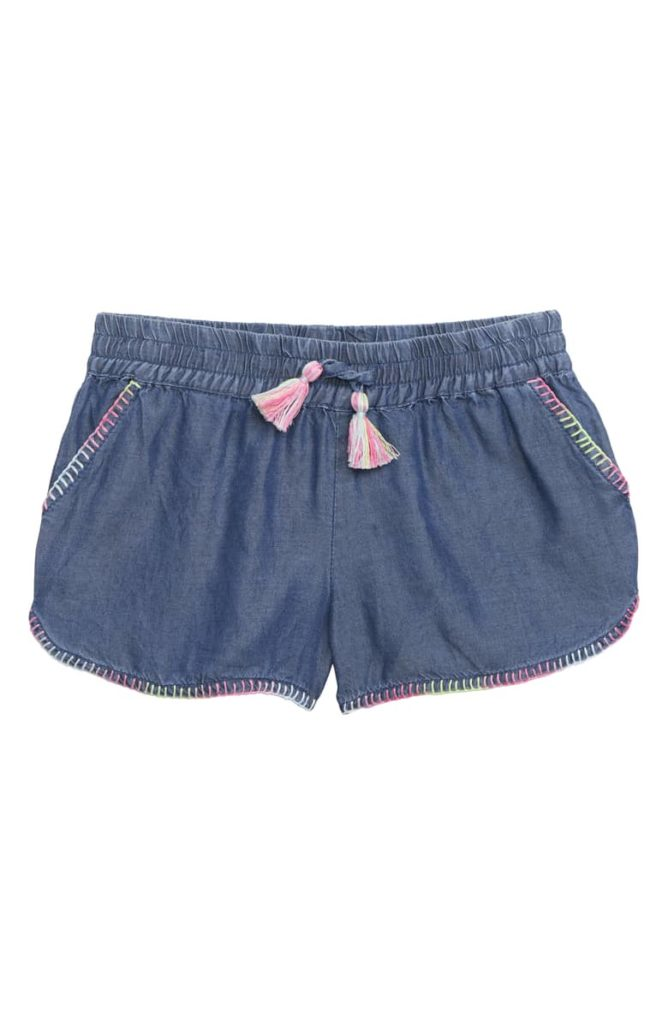 Farrah Tassel Shorts PEEK AREN'T YOU CURIOUS $38.00