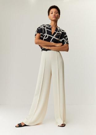 Scarf print blouse $59.99