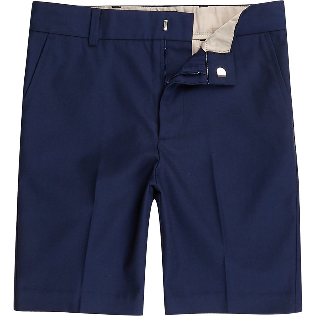 navy slim fit smart chino shorts $36.00