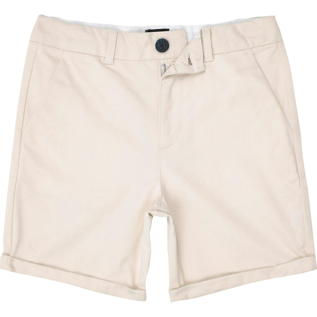 Stone slim fit smart chino shorts $24.00