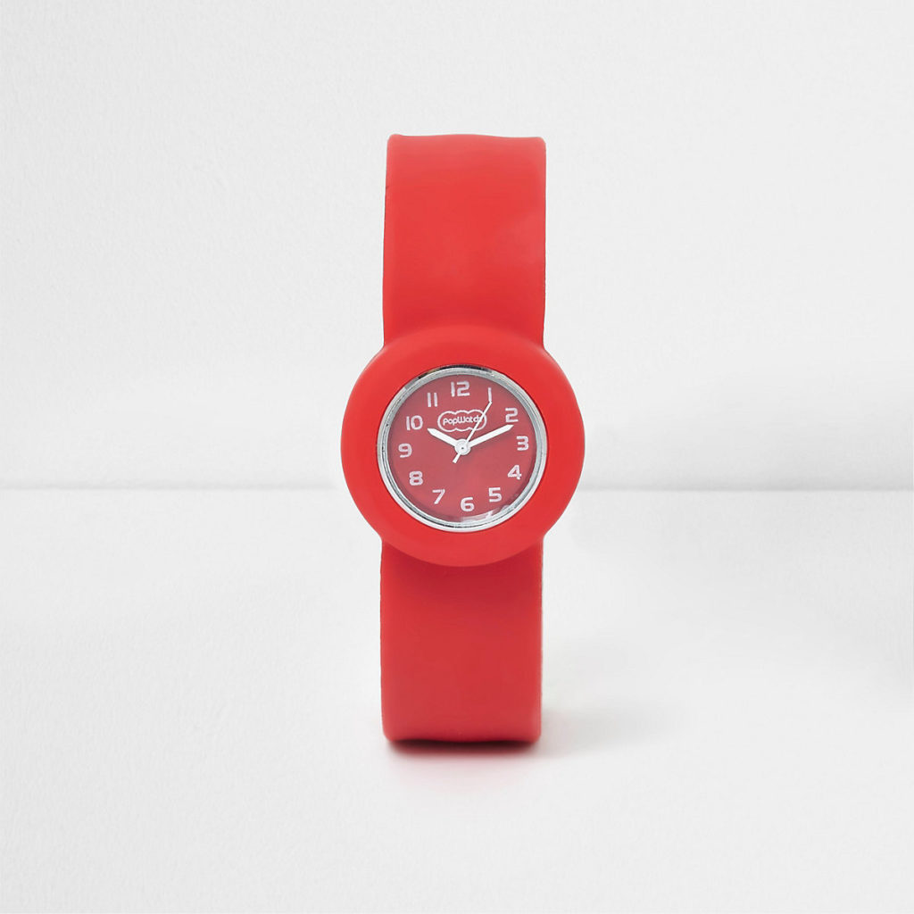 Boys red pop watch $10.99