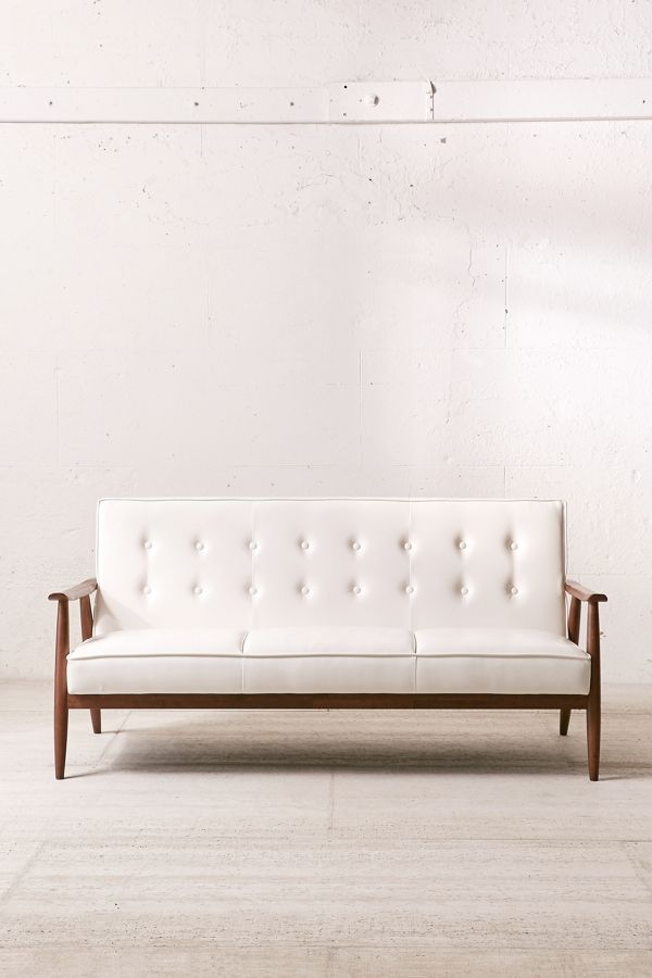 Wyatt Faux Leather Sofa $649.00