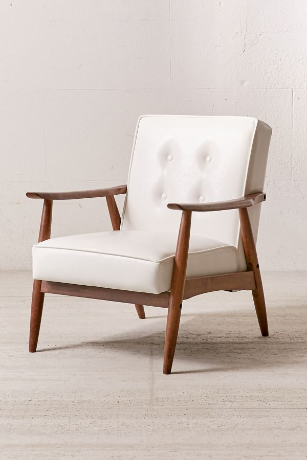 Wyatt Faux Leather Arm Chair $379.00