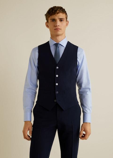 Slim-fit suit gilet $69.99