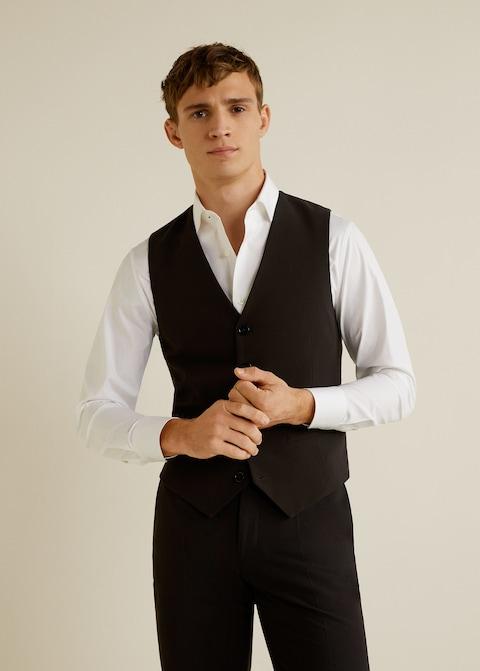Regular-fit Tailored gilet $69.99