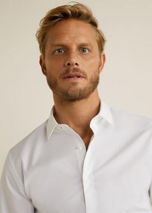 Tailored super slim-fit cotton shirt $69.99
