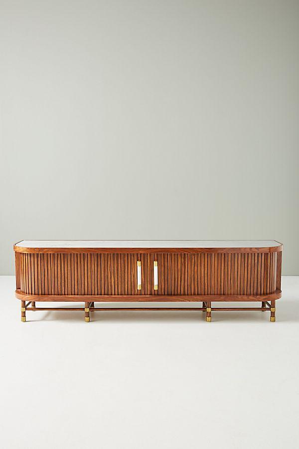 Deluxe Tamboured Media Cabinet $1,998.00