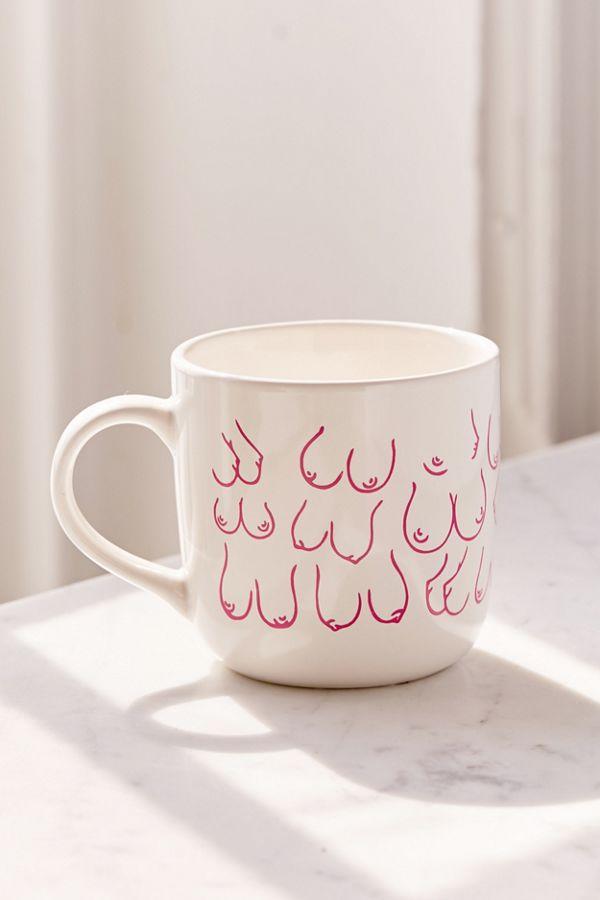 Topless Mug $9.00