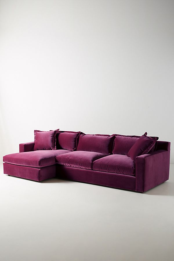 Velvet Katina Left Sectional $3,598.00