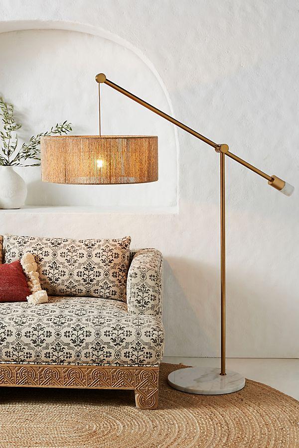 Topanga Jute Floor Lamp $698.00