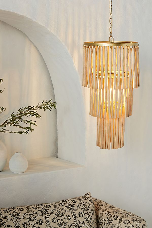 Natural Chime Chandelier $498.00