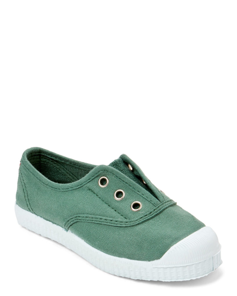 CIENTA (Toddler/Kids) Green Slip-On Sneakers $19.99