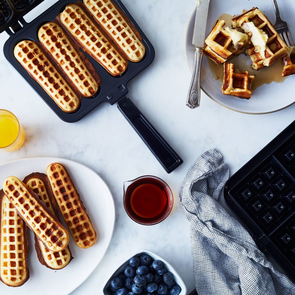 Stovetop Waffle Dippers Iron $58