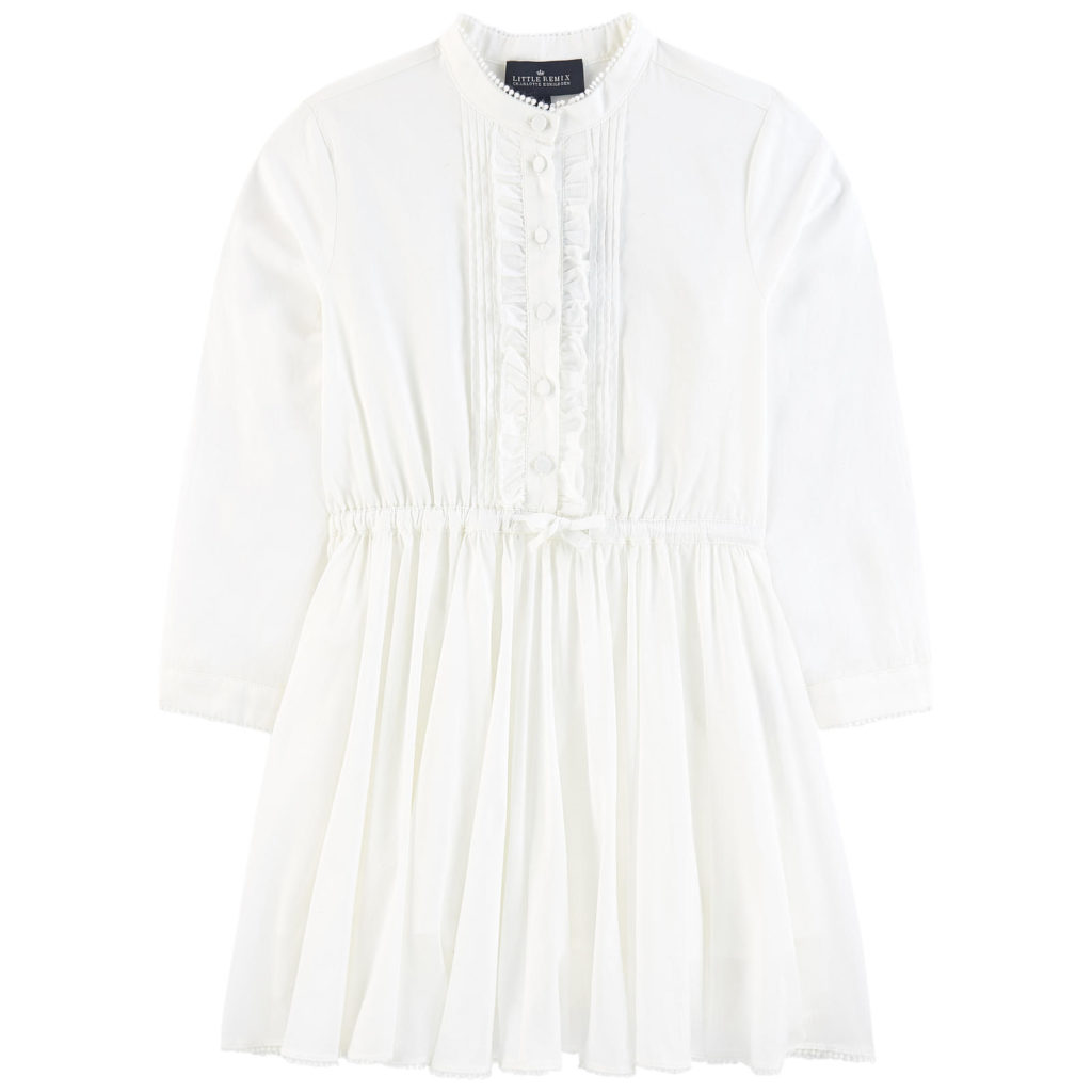 LITTLE REMIX Cotton voile dress $167