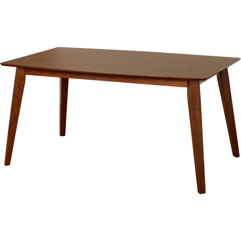 Bernard Dining Table, Dark Walnut $196.61
