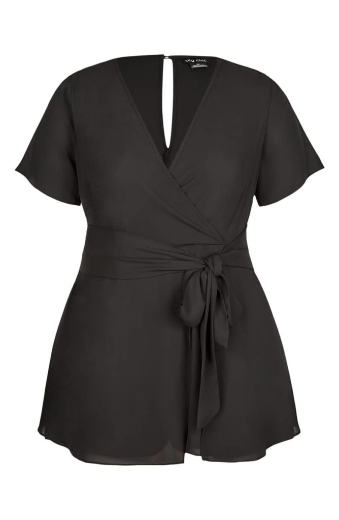 Sweet Tie Playsuit CITY CHIC $99.00