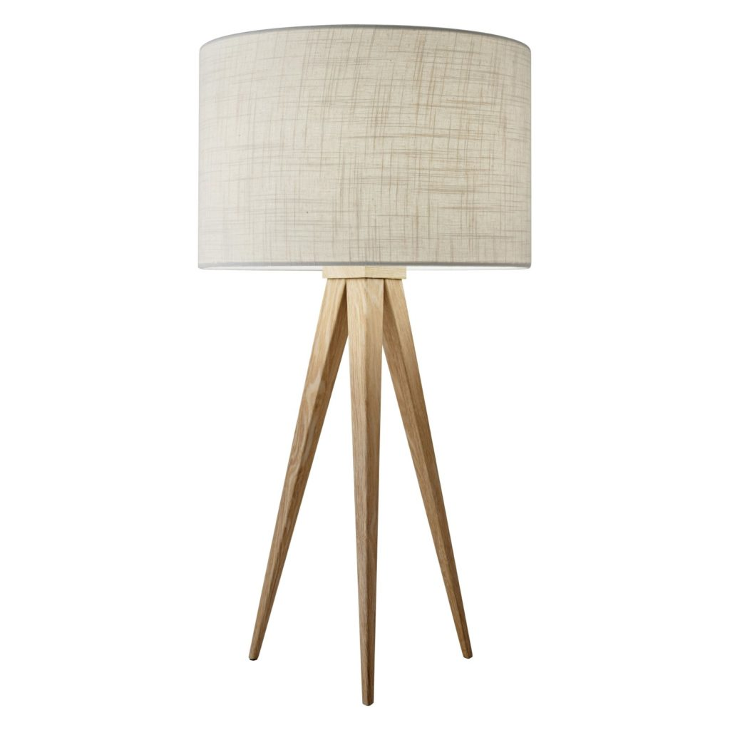 Adesso Director Wood Table Lamp  $129.98