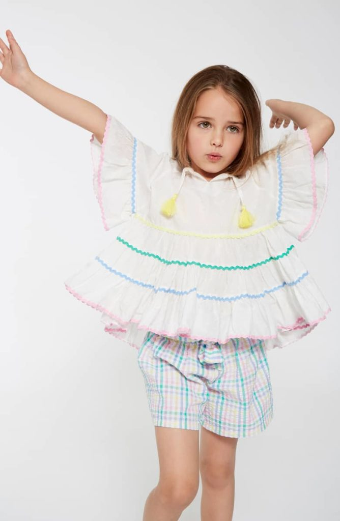 Rainbow Rickrack Swing Top SEED HERITAGE $30.00