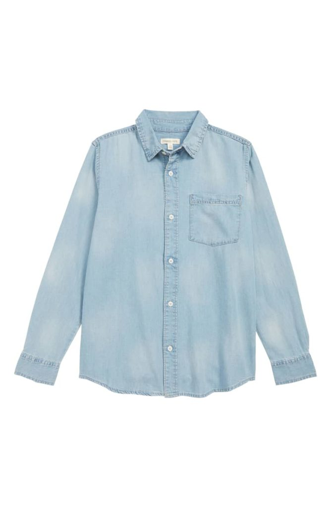 Denim Shirt TUCKER + TATE $39.00