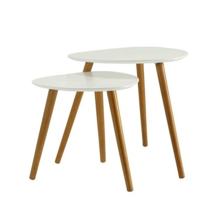 Convenience Concepts No Tools Oslo Nesting End Tables $64.59