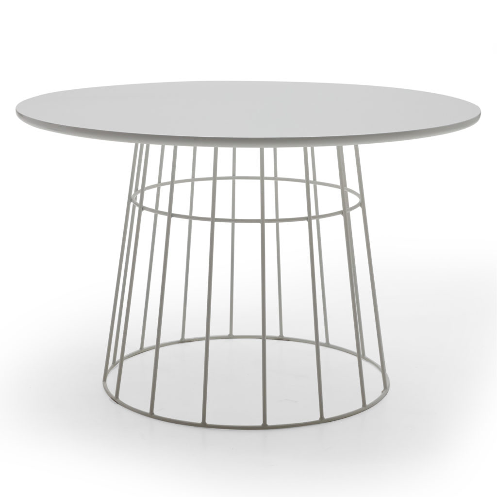 Scandinavian Kipper Round Dining Table $379.00