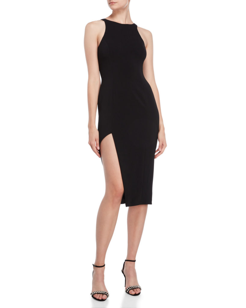 JAY GODFREY The Pine Racer Neck Dress $99.99