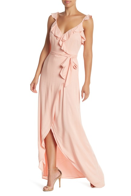 PAIGE  Regina Ruffle Maxi Dress $79.98