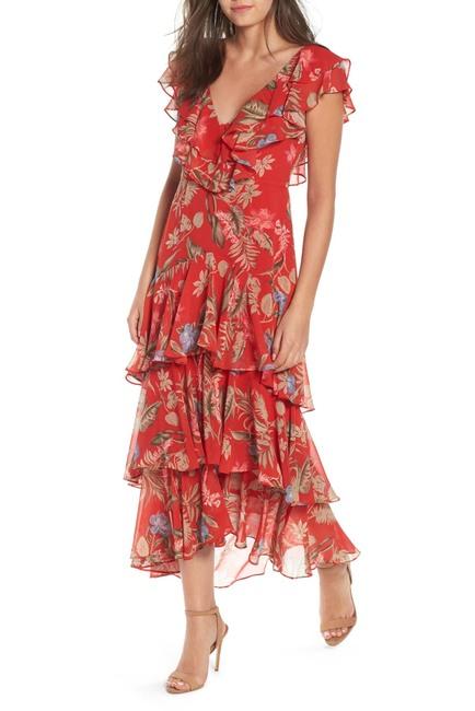 WAYF Chelsea Tiered Ruffle Maxi Dress $35.96