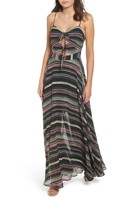 WAYF Chelsea Knot Maxi Dress $39.97